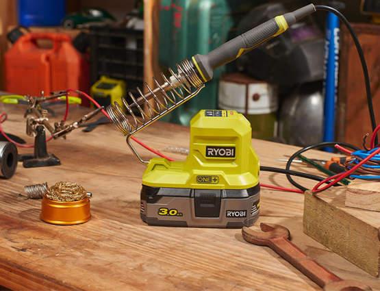 Fer à souder sur batterie RYOBI R18SOI-0